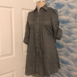 NWT Romeo & Juliet Couture Small Cotton buttonup